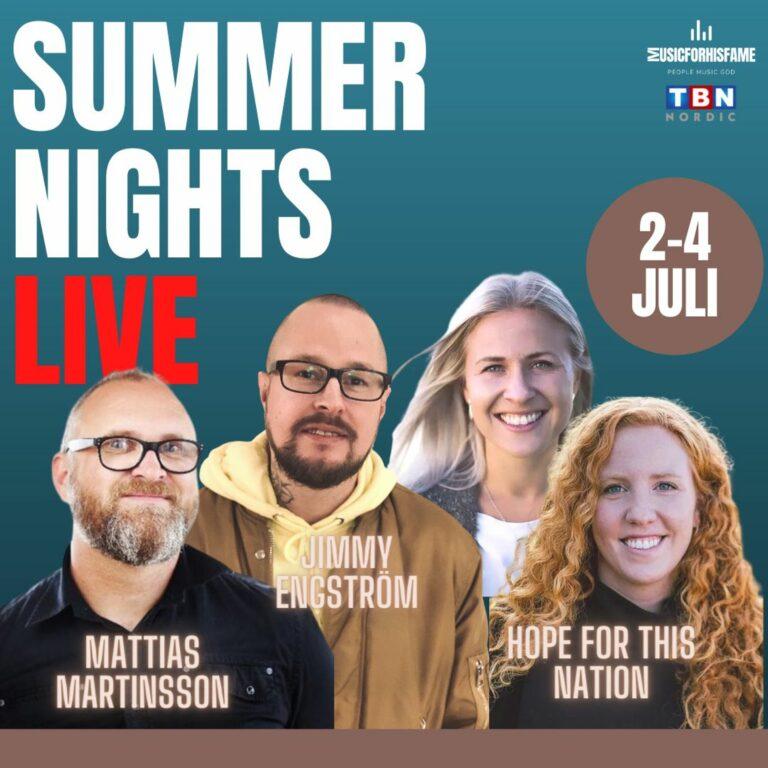 Summer Night LIVE – Söndag